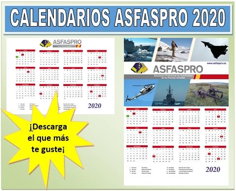Banner calendario 2020