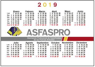 Calendario1 2019 P