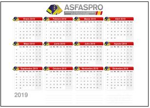 Calendario2 2019 P