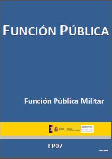 Icono Funcion Publica Militar