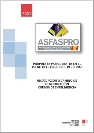060.2021 Propuesta ASFASPRO Denominación cursos inteligencia