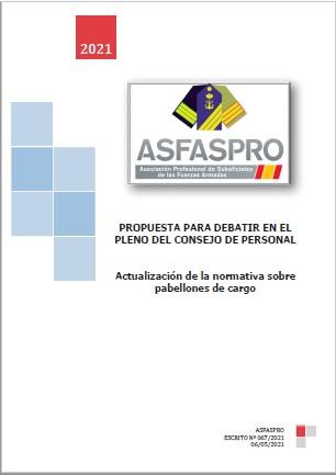 067.2021 Propuesta ASFASPRO Pabellones de cargo Sub Mayores