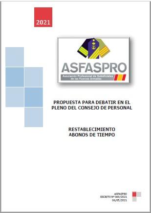 069.2021 Propuesta ASFASPRO Abono de tiempo