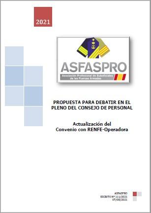 111.2021 Propuesta ASFASPRO ACTUALIZACIÓN CONVENIO RENFE MINISDEF