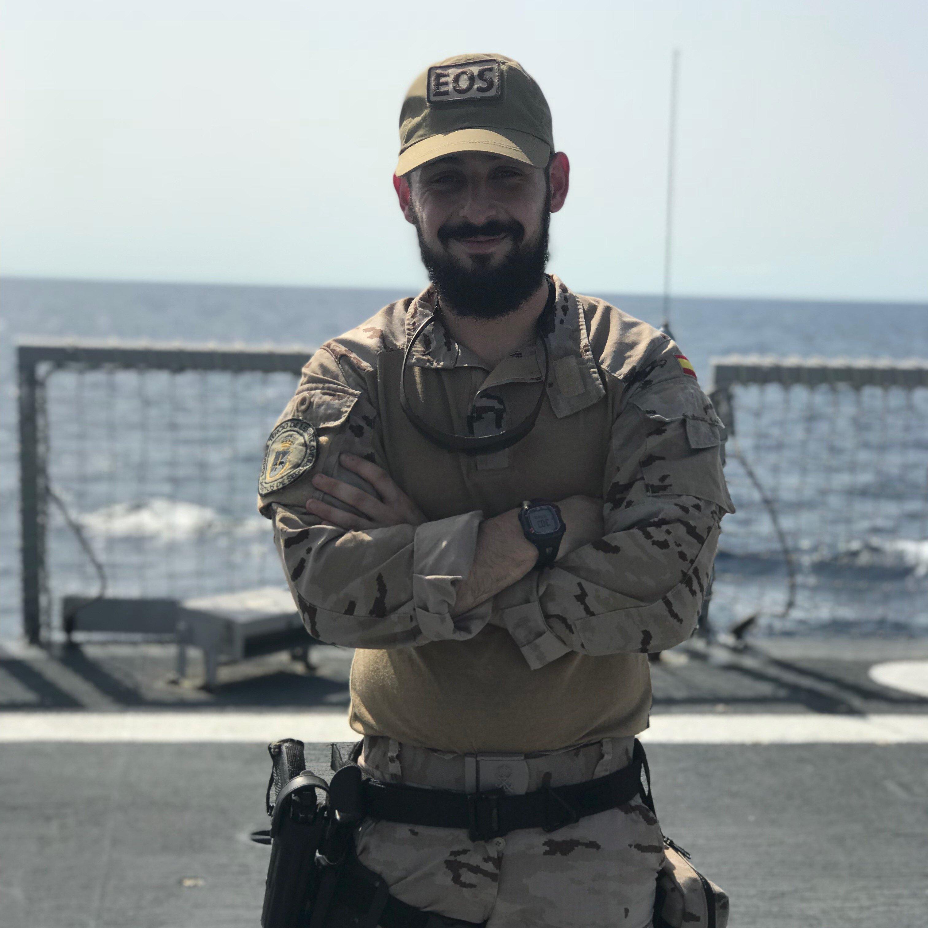 Daniel Fopiani en la Operación ISPUHEL apoyo a Irak