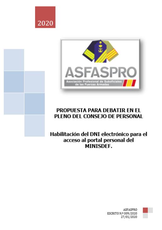 Habilitación del DNI electrónico para el acceso al portal personal del MINISDEF