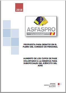 I12.2018 Propuesta ASFASPRO cupos reserva voluntaria EA
