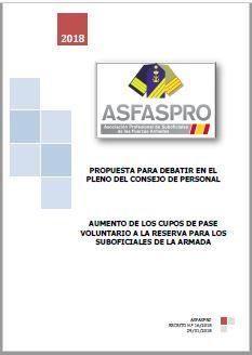 I16.2018 Propuesta ASFASPRO cupos reserva voluntaria ARMADA