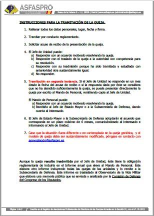 Instrucciones tramitacion queja 200320