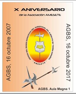 Logo X Aniversario AMESETE