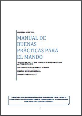 MANUAL DE BUENAS PRACTICAS PARA EL MANDO