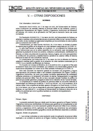 Resolución 4300716420 de 17 de mayo de 2020