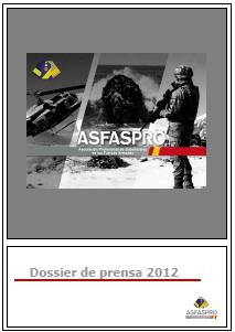Portada Dossier Prensa ASfaspro