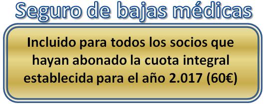 Seguro Bajas 2017 1