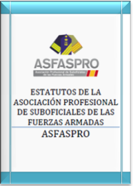 Portada Estatutos ASFASPRO