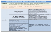DISPOSICIÓN TRANSITORIA SÉPTIMA: Ascenso de suboficiales al empleo de teniente