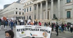 Declaraciones del presidente de ASFASPRO, Miquel Peñarroya - Manifestación 16 octubre