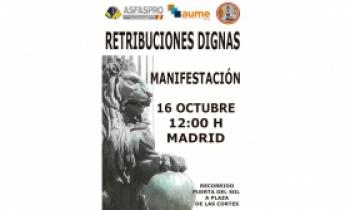 Manifestación: 16 de octubre - Recorrido