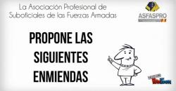 Video Enmiendas ASFASPRO Ley Carrera Militar