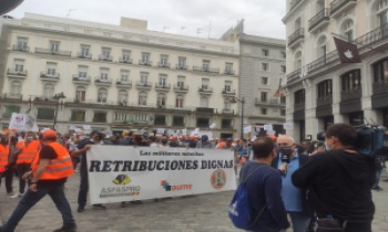 Recopilación de noticias Manifestación ASFASPRO, AUME y ATME el 16 de octubre - RETRIBUCIONES DIGNAS