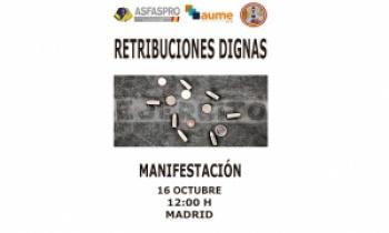 Manifestación: Retribuciones dignas