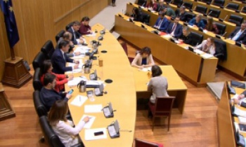 Comisión de Defensa 20F: la Ministra guarda silencio sobre las retribuciones