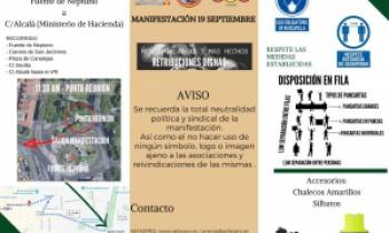 Tríptico Manifestación 19S Madrid (Actualización)